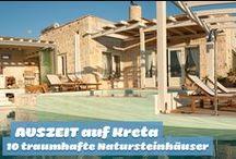 Traumhafte Natursteinhäuser auf Kreta / Tradition mischt sich mit Moderne auf der Sonneninsel Kreta