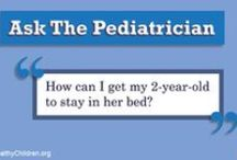 """Ask the Pediatrician / Pediatricians and Fellows of the American Academy of Pediatrics answer your parenting questions on HealthyChildren.org. Remember, only board-certified pediatricians can add the designation """"FAAP"""" after their names, which means they have reached the highest status of membership in this professional organization. For more information, visit www.HealthyChildren.org. / by HealthyChildren.org"""