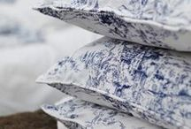 Toile de Jouy / We love the classic Toile de Jouy design in fabric. Here are some of our top pics! Perfect for country and french style interiors.