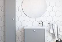 Bathroom / Badrums inspiration