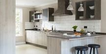 North Hill Highgate kitchen and living room / My complete refurbishment inclusive of floor, tiles , kitchen and living room