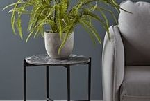 Colour inspiration - Grey / Using grey on walls, fabrics, accessories, grey the new neutral. Interior design and styling.