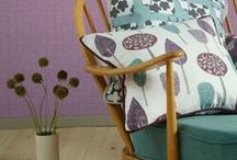 Ercol / Ercol furniture original designs are retro and enjoying a resurgence in popularity. Always being re loved by enthusiasts and suits the current scandi interior style too. Fabrics and interiors featuring this British classic furniture design.