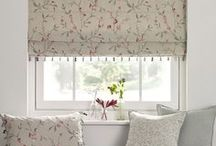 Blinds / Blinds, roman shades and more. How to make blinds and shades and fabrics that you can make them from.