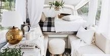 Holiday home Glamping / Inspiration for making your camping glamorous. Glamming it up under canvas.