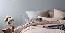 Pink & Grey - Colour couples / Interiors using the colours pink and grey in design. Pairing the colour grey and pink together, how it is done.
