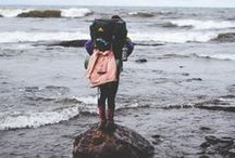 w a n d e r l u s t / //she's a wanderer// / by Sarah Kathleen