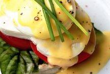 "Breakfast / ""All happiness depends on a leisurely breakfast."" -- John Gunther"