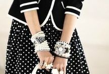 Black and white and fabulous all over / A bit of a monochrome thing / by Domestic Sluttery