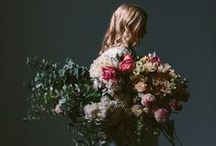 f l o r a / //the earth laughs in flowers// / by Sarah Kathleen