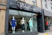 New Voluptuous Concept Store / Shots for our new plus size boutique now open at 636 Queen Street West, Toronto!