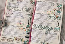 Bullet Journal #getstartednow / Spreads, collections, washi tape, oh my!