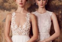 Fall Winter 2017 Bridal Campaign Sachin & Babi / Our Fall 2017 bridal collection is a continuation of the mood of our most recent ready to wear line – strength within grace. The collection is for a woman who already knows what she wants.  We were fascinated by the idea of hand embroidered weddings gowns that were still light and effortless; to offer our bride a unique gown that allows her to celebrate with joie de vivre.
