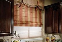 Roman shades for Roseway House