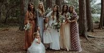 Bohemian Chic Wedding Look