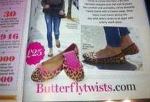 Butterfly Twists Fans