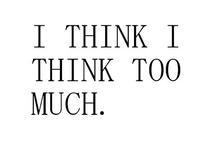 Je pense que... ^^..-..