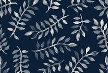 Block printing / exploring ideas for simple printing on fabric / by Jan Allan