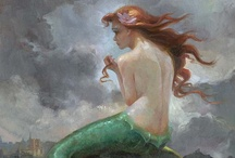Mermaids and the sea