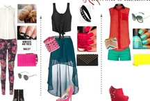 Outfits and delish  / My imaginary fashion style   / by Anna
