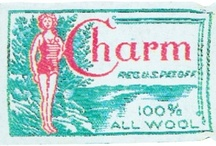 The Charm of Vintage Labels  / Add your favorite vintage clothing labels!