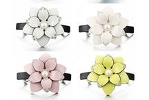 Hair Accessories / All beautiful hair accessories are here. Hair clips, hair clamps, headbands and so on. / by FOLLOW BEST
