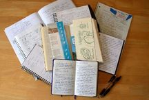 Journaling, Writing, and Sketchbooks / Ideas and inspirations for creating, writing, and keeping journals / by Michelle Dudra