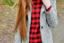 REd BUFFalo PLAid / Wilderness meets chić.  / by Kyla Dougherty