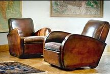 Leather Furniture / Many different types of leather seating
