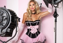 Burlesque / Pin Up Lingerie / Step in to the sexy and naughty world of burlesque lingerie with these vintage inspired corsets, petticoats, bustiers, panties and more. Perfect for boudoir photo shoots or for starring in your own vintage peep-show!
