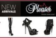 Shoes / PLEASER is synonymous with premium sexy and exotic heels which encompasses a vast collection of sexy, glam, retro, rockabilly, fetish, gothic, punk, and renaissance heels.