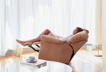 Leather Reclining Furniture / Enjoy a plethora of reclining seating , choose from sectionals , sofas, loveseats, and chairs, with manual or power options, perfect for any family, or theater room.