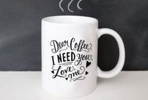 Mugs + Cups We Love / Inspiration in the shape of a mug!