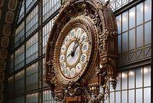 Viaje - Relojes alrededor del mundo... algunos milenarios / Relojes de ciudades // Superbes horloges d'extérieur, dans le monde ... // And Clock Towers / by ViajeXelMundo .
