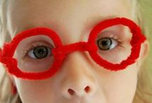 Eyes Lesson / Eye lesson activities for preschool, kindergarten, 1st grade, or homeschool science.