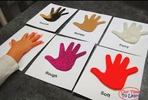 Five Senses / Five senses lesson - science activities for preschool, kindergarten, first grade, and home school.