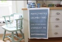 SeaKisses Kitchen / Put some coastal decor into your kitchen with some of our seaside inspired lovelies