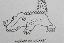 auditieve oefeningen hakker de plakker krokodil