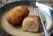Sweet dessert dumplings around the world