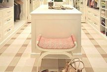 Walk in closets / Ideas for my coming walk in closet