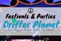 /☮ Festivals and Parties / We love psytrance festivals and parties!