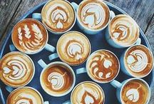 Latte Art / Beautiful examples of latte art! Latte art is created by pouring steamed milk into espresso and creating a pattern or design.