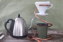 Coffee + Tea Gear / Cool tools and gear to help you get your brew on!