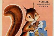 Vintage Coffee + Chocolate Ads / Vintage ads for our favorite things: coffee + chocolate!