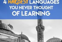 Language Learning / Tips and tricks for language learning and how to pick up foreign languages quicker and easier.