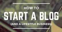 Lifestyle Business / A collection of tips and tricks for launching a thriving lifestyle business that you love.