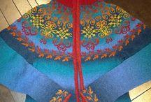Knitting / Flotte strikkeplagg. Ideer til plagg, mønster, fargesamnensetninger osv.