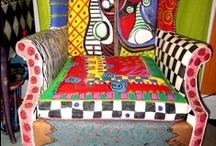 Mil Coisas / Patchwork, artes em geral, pinturas, facilidades domesticas, ideias interessantes, etc... / by Shenia Valente