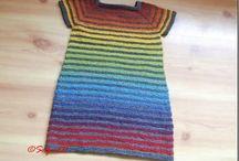 Egen strikking /My own knitting / Noe av det jeg selv har strikka