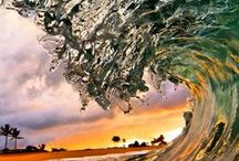 Waves / Waves, powerful meaning of Nature.